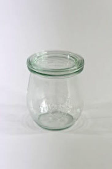 Image de Mini-tulip jars 220 ml diam 60