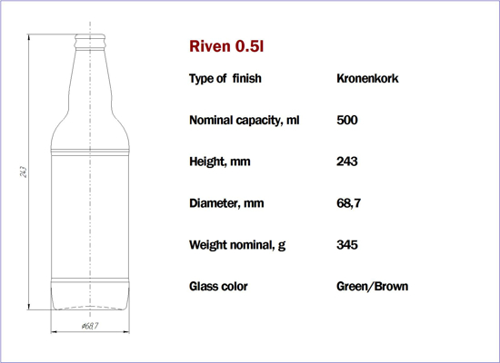 Picture of Riven 500 ml